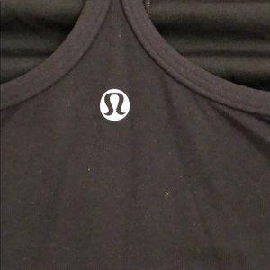 lululemon athletica Tops - LuluLemon size 4 tank, shelf bra, black